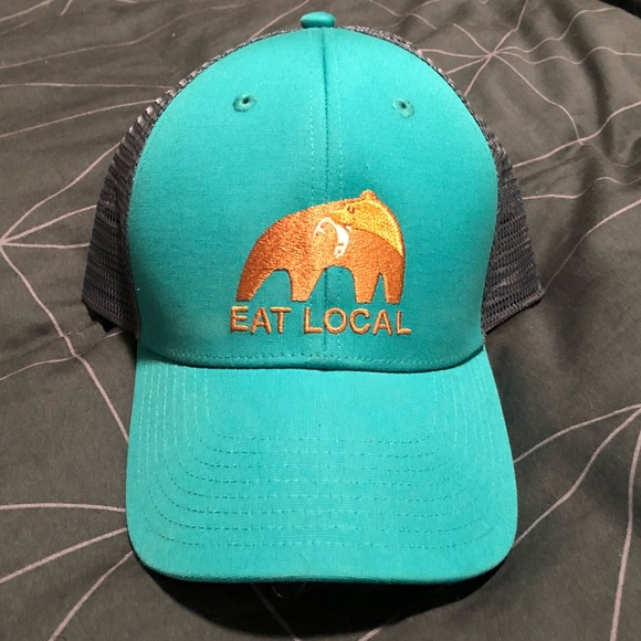 a793dc5570 NEVER WORN Patagonia Eat Local Hat. M 5b68f43c9264aff108dec848